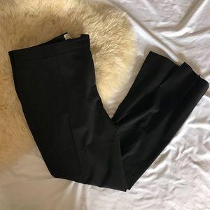 BURBERRY black dress pants size 12